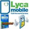 LYCAMOBILE SPANIEN PREPAID SPANISH SIM CARD EU ROAMING 1 GB INTERNET 100 MINUTEN