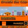 ORANGE HOLIDAYS SPAIN TARJETA SIM PREPAGO 50 MINUTOS 30 GB INTERNET 4G +