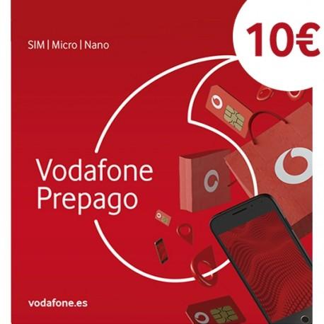 VODAFONE PREPAGO S SPANISH SIM CARD 6 GB INTERNTET + 300 MINUTES SPAIN (New Basica)